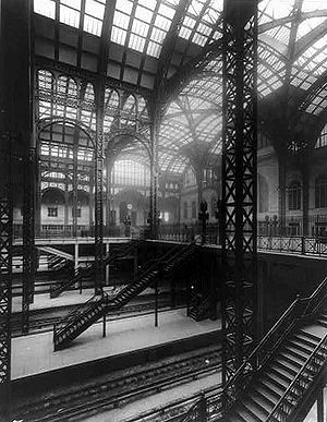 Historic preservation - Demolition of the former Penn Station concourse raised public awareness about preservation