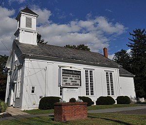 Penns Neck, New Jersey - The historic Penns Neck Baptist Church.