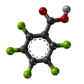 Pentafluorobenzoic acid-3D-balls.png