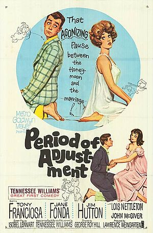 Period of Adjustment (film) - Theatrical film poster