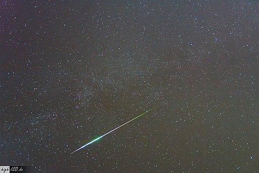 Perseiden Meteor (2009)