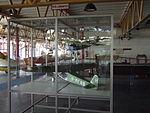 Petőfi Csarnok, Repüléstörténeti kiállítás, Fokker F.III és Fokker F.VIII modelljei.JPG