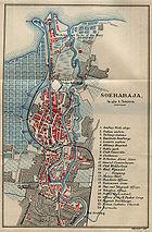 Map of Surabaya from an 1897 English travel guide