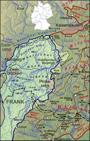 Westrich Plateau - Naturräume der Westricher Hochfläche
