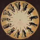 A fenakisztoszkóp-lemez, az egyik első animációs eszköz