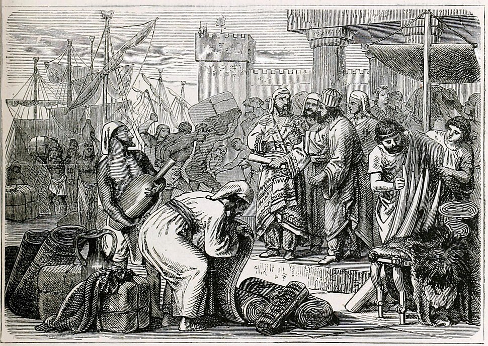 Phoenician Merchants and Traders