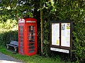 Phone box at Lowlands, former Chartist settlement - geograph.org.uk - 986006.jpg