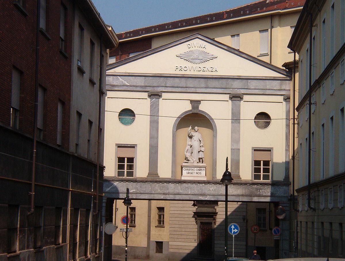Cottolengo viquip dia l 39 enciclop dia lliure - La casa della lampadina torino ...