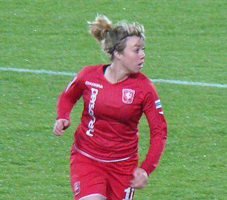 Marlous Pieëte - Pieëte playing for Twente in 2010