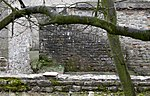 Medieval Chapel Ruins on Roman Foundations in Rear Garden of Bath House, Tees View