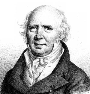 Pierre-Simon Girard - Pierre-Simon Girard, after a portrait by Julien-Léopold Boilly