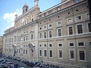 Bartolomeo Ammannati - Image: Pigna Collegio romano 1080166