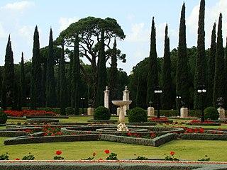 Bahá'í gardens Gardens in Bahá'í places of worship and pilgrimage