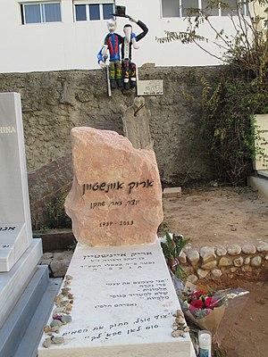 Arik Einstein - Grave of Arik Einstein