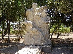 Hulda, Israel - Hulda memorial