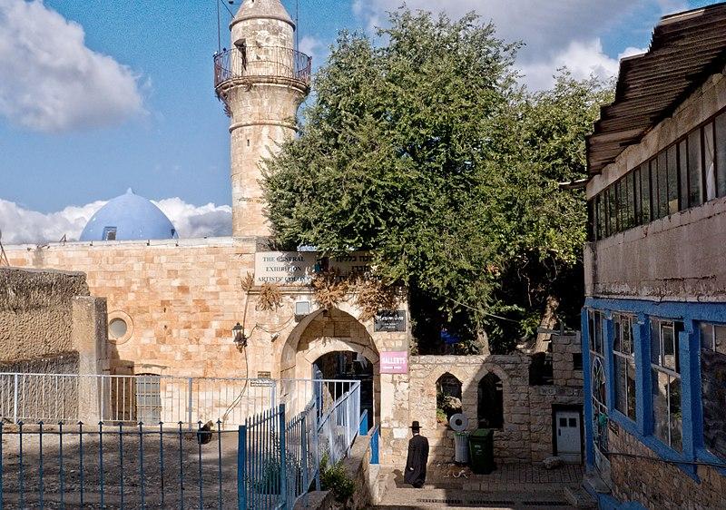 צפת העתיקה,מסגד השוק