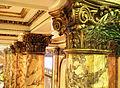 Pillar detail - Lobby Fairmont Hotel, San Francisco, Feb. 1, 2010.jpg