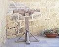 Pillory - Citadel, Gozo.JPG