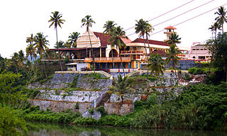 St. Marys Jacobite Syrian Cathedral, Piravom Church in Kerala, India