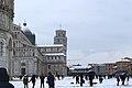 Pisa, 2018, neve in Piazza dei Miracoli.jpg