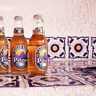 Piton (beer) - Image: Piton Beer