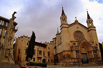 Vilafranca del Penedès - Image: Plaça de Jaume I (Vilafranca del Penedès) 4