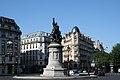 Place de Clichy and Monument of Maréchal Moncey, Paris 15 July 2006.jpg
