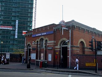 Plaistow, Newham - Image: Plaistow station building