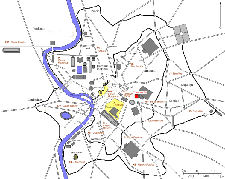 Bestand:Plan Rome - Thermae Titi.png