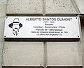 Plaque Alberto Santos-Dumont, 114 avenue des Champs-Élysées, Paris 8.jpg