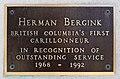 Plaque at Netherlands Centennial Carillon in Victoria, Canada 04.jpg
