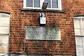 Plaque under the window - geograph.org.uk - 1624830.jpg