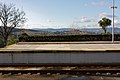 Plataforma de passageiros na Estação de Braga, 2009.12.17.jpg