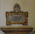 Plate of Benedictus XV in Collegiata di San Tommaso (Castel Gandolfo).jpg