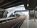 Platform and overpass of Heisei Station.jpg