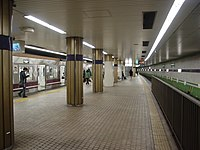 Platform of Deto station.JPG