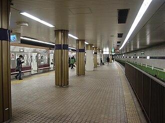Deto Station - Station platform