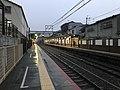 Platform of Uzumasa Station 5.jpg