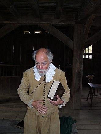Samuel Fuller (Pilgrim) - Dr. John Kemp of the Plimoth Plantation portraying Samuel Fuller (2009)