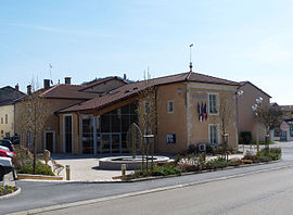 The town hall in Poissons