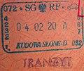 Pol kudowa passstamp.JPG