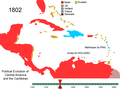 Political Evolution of Central America and the Caribbean 1802.png