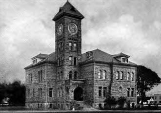 Dallas, Oregon - Polk County Courthouse