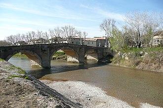 Bédarrides - Bridge over the Ouvèze