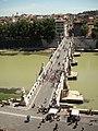 Ponte S. Angelo visto da Castel S. Angelo.jpg