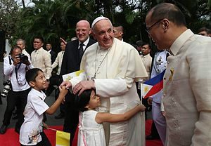 Theology of Pope Francis - Image: Pope Francis Malacanang 19