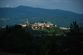 Poppi Comune in Tuscany, Italy
