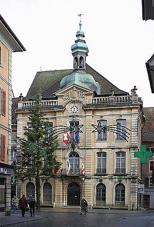 Porrentruy - Hôtel de Ville
