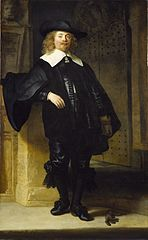 Portrait of a Man Standing, possibly Andries de Graeff
