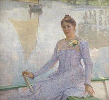 Portrait of Anna de Weert by Emile Claus.jpg